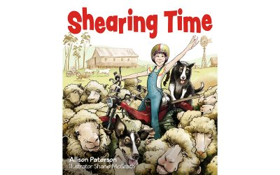 Shearing Time Launch and Giveaway