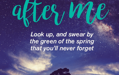 Cover Reveal – Follow After Me