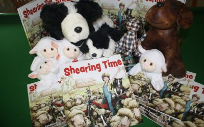 Shearing Time at Books of Buderim